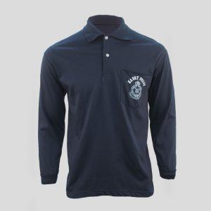 beeloon-malaysia-kadet-polis-t-shirt-blue-long-sleeve-front