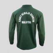beeloon-malaysia-kadet-remaja-sekolah-tunas-dark-green-long-sleeve-back